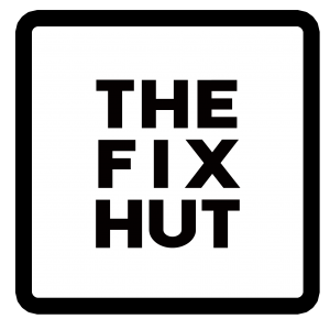 The Fix Hut iPhone repair Portland logo