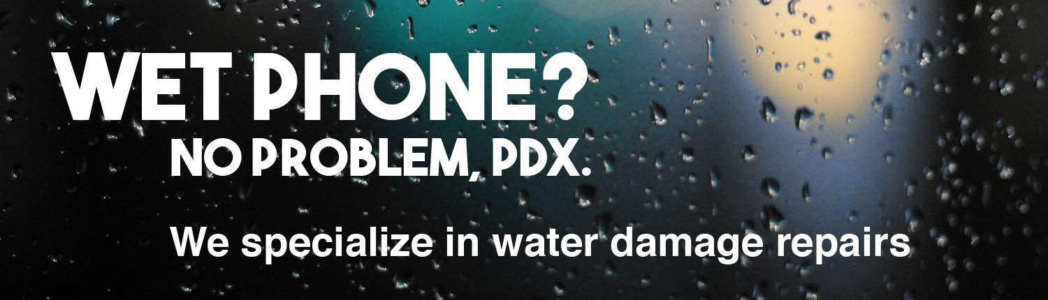 water damage portland rain