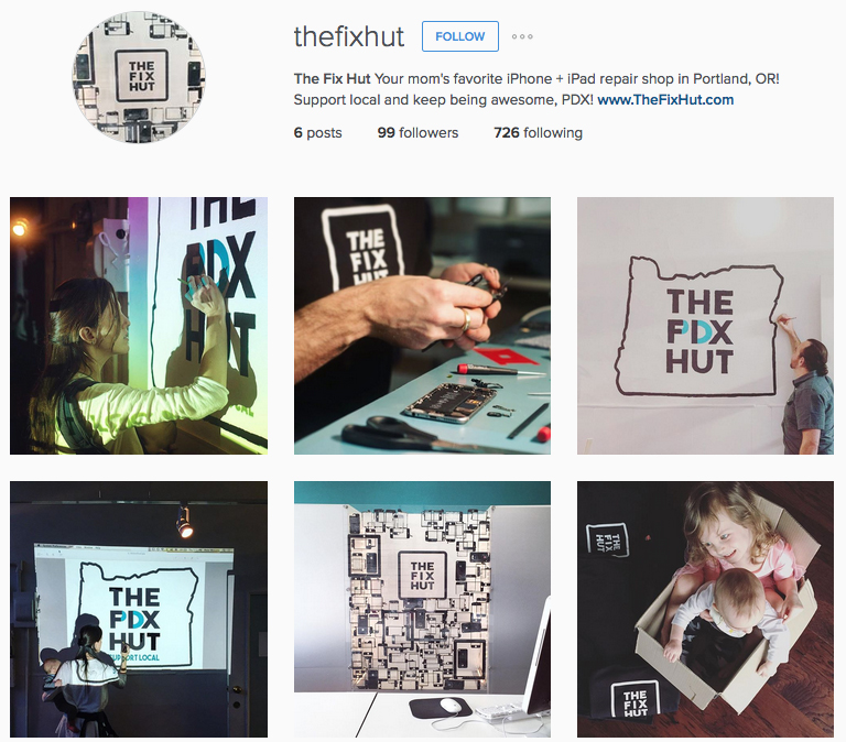 The Fix Hut Instagram
